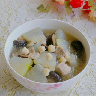 香菇鲜贝冬瓜汤