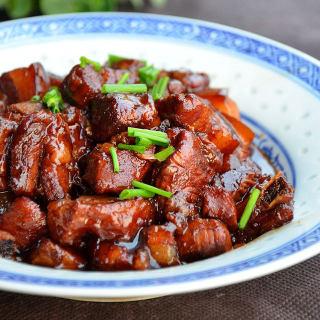 蒸出来的红烧肉