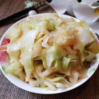 蚝油包心菜