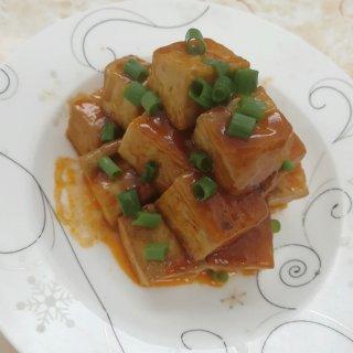 黄金酸甜豆腐