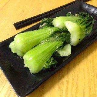 蒜炒上海青