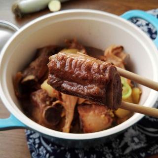 土豆蘑菇炖排骨