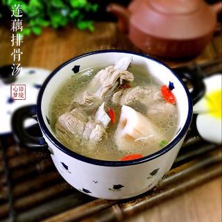 秋季润肺莲藕排骨汤