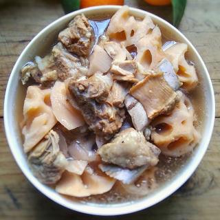 莲藕排骨汤―懒人版