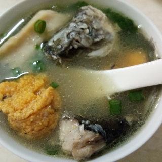 榴莲芯鲫鱼汤