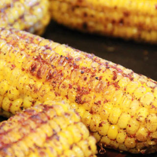 平底不粘锅烤玉米