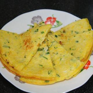 嫩玉米早餐饼