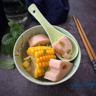 莲藕玉米骨头汤