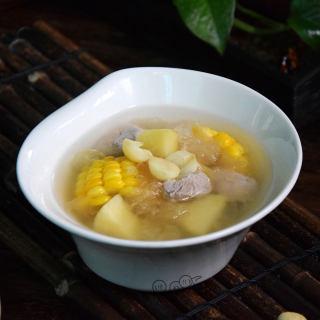 玉米苹果猪腱子汤