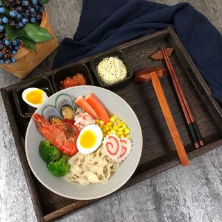 日式海鲜拉面