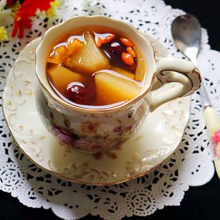苹果红枣红糖水