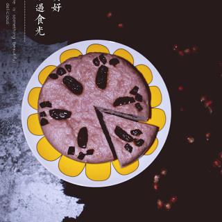 紫薯红枣发糕