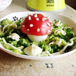 小蘑菇沙拉