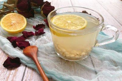 薏米柠檬茶