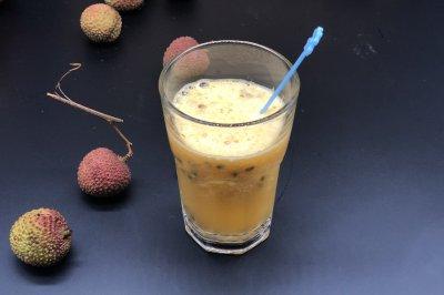 百香果橙子汁