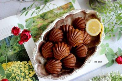 巧克力摩卡玛德琳必备零食