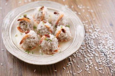 吃了你就超可爱的珍珠鲜虾牛肉丸