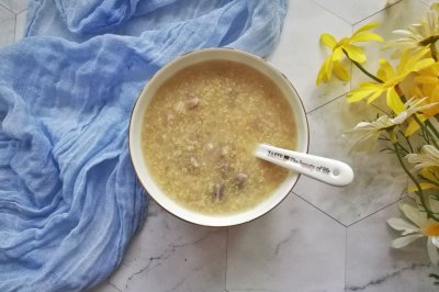 可以增强免疫力的芋头藜麦小米粥