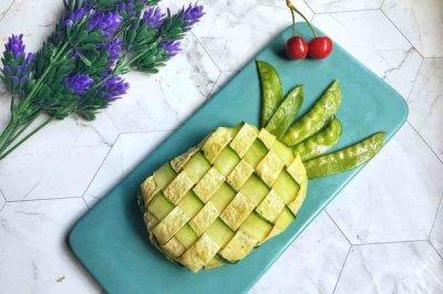 儿童创意菠萝盖饭