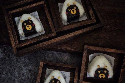 超萌熊本饭团