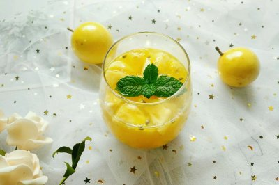 爱心特饮菠萝百香果饮