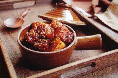 桂花红烧肉