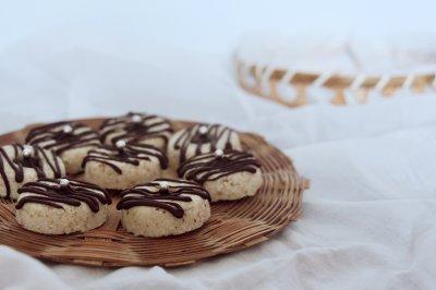 椰香坚果酥饼