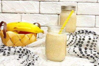 香蕉花生奶昔