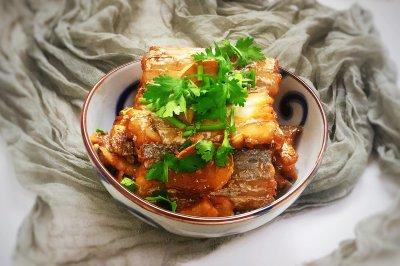 红烧带鱼新吃法