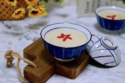 黄豆花生红枣糯米糊