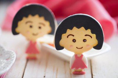 樱桃小丸子翻糖饼干