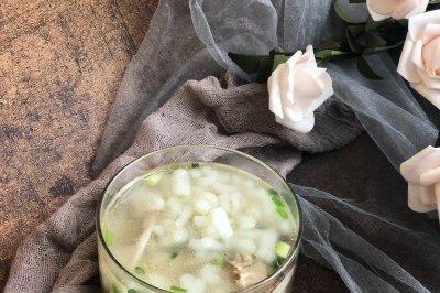凉虾鸡菌汤