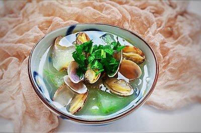 夏季祛湿冬瓜蛤蜊汤