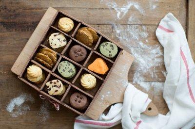 能吃的巧克力饼干盒子