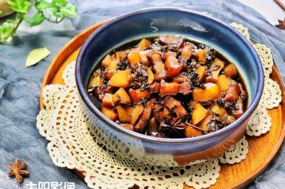 海派风梅菜土豆红烧肉