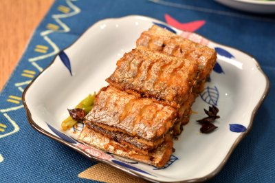 猪油红烧带鱼