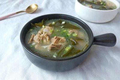 营养海带排骨汤