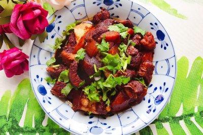 土豆茭白红烧肉(懒人高压锅版)