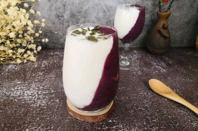 紫薯酸奶杯