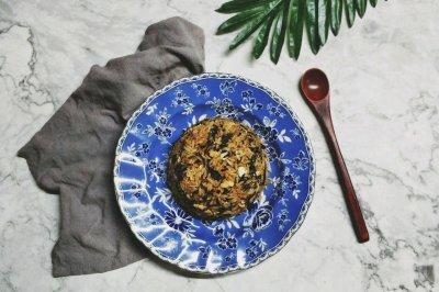 梅菜干酱油蛋炒饭