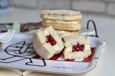 树莓奶酪达克瓦兹