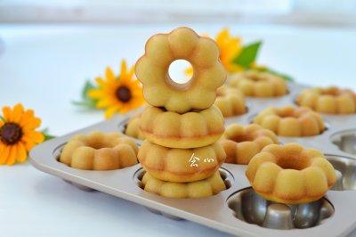 花朵甜甜圈