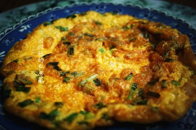 榨菜煎蛋三伏素食