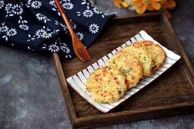 杂蔬大米饼