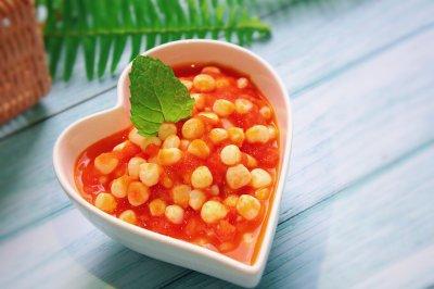 快手减脂茄汁玉米