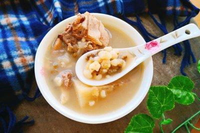 粉葛薏米绿豆祛湿汤