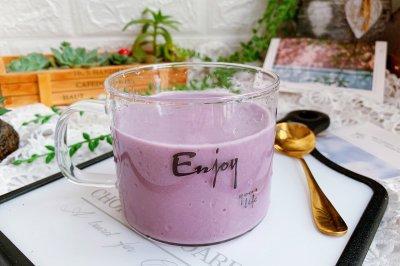紫薯香蕉奶露