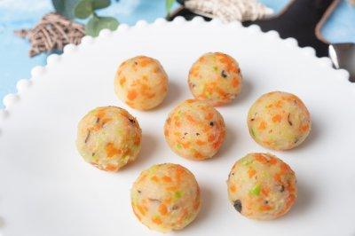 土豆泥蔬菜丸