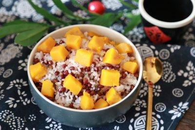 南瓜红豆饭