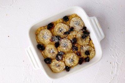 美味健康的奶香紫薯烤燕麦